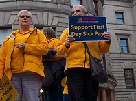 A 501(c)(4) led the campaign in Portland, Ore., to adopt paid sick leave for all workers.
